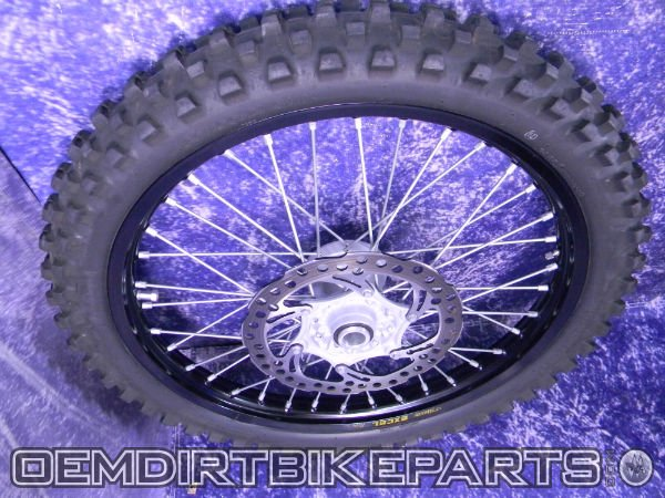 ktm 500 front wheel complete for sale
