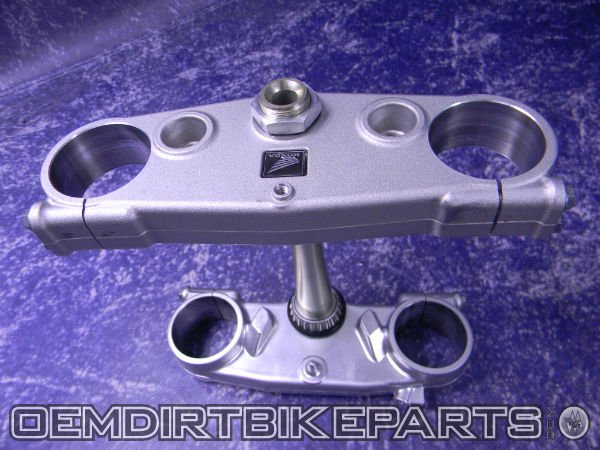 crf450 stock triple clamps complete 02-07