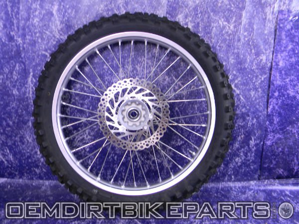 crf450 front complete wheel spokes hub OEM Stock cr125r cr250r crf250x crf450x Dirt Bike