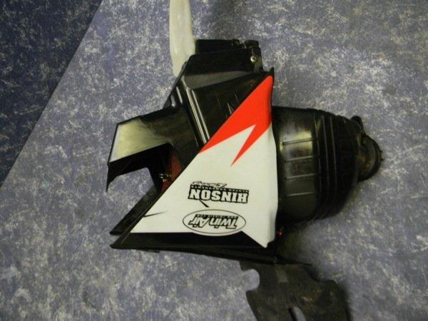 plastic body crf250r airbox filter