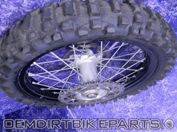 Ktm Excel Rear Wheel 125 sx 250 sxs 450 sxf