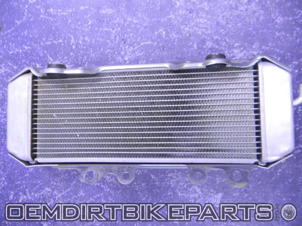 2006 2007 2008 kx250 f oem radiator left side