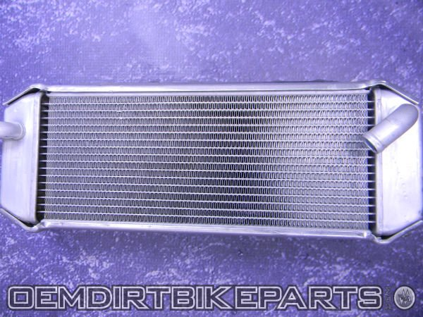 radiator oem non fill side kx 250f