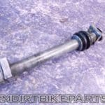 Kx250 Rear Axle Bolt 03 04 05 06 07 08 Nut Wheel Adjuster blocks kit Complete