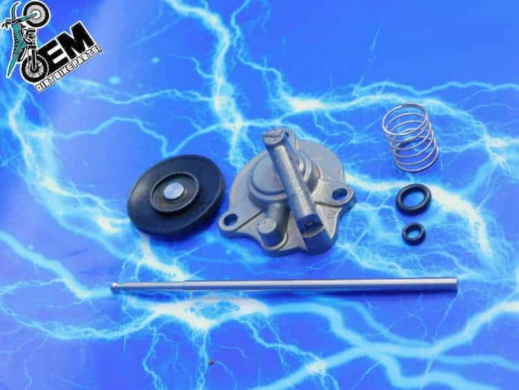 YZ450F Accelerator Pump Cover Upgrade Kit Keihin Product Assembly 03 04 05  06 07 08 09