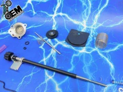 WR450F Keihin Carb Rebuild Carburetor Genuine Gasket Kit Rubber Performance  O Rings OEM 03 04 05 06 07 08 09 11