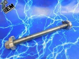 KTM 525 Rear Axle Bolt Wheel Nut Kit OEM Assembly 03 04 05 06 07