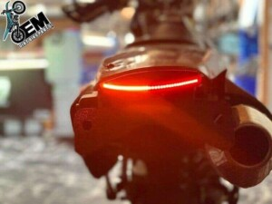 DRZ400 Rear Tail Light Upgrade Complete for 00 01 02 03 04 05 06 07 08 09 10 11 12 13 14 15 16 17 18 19 20  Suzuki models.
