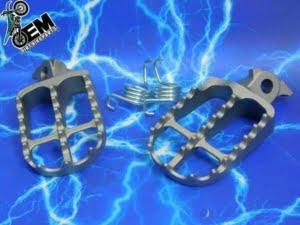 BETA 125 2 Stroke Wide Foot Peg Upgrade Left Right Side Rest 55mm Made in Japan 2000-2020