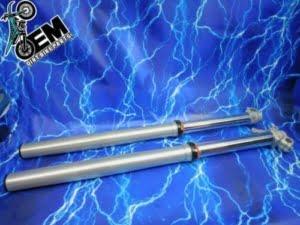 KTM 200 Complete Fork Set Chrome 48mm Front Suspension Stock Kit WP 2003-2016