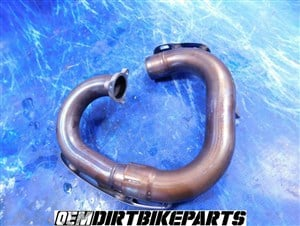 Yz450f Exhaust Pipe Header Muffler OEM WR450f Yz450FX Complete Genuine Assembly