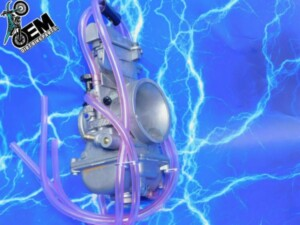 KTM 200 Complete Carburetor Upgrade Intake Genuine Keihin Short Body Quad Vent 1998-2016