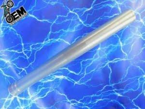 KTM 200 OEM Fork Tube Upper Suspension Stock Front Outer Silver Part WP 48mm 2003-2016