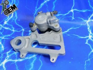 KTM 400 Rear Brake Caliper Brembo Pads Complete Bracket OEM Assembly KIT 2000-2002
