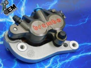 KTM 505 Brake Caliper Factory HARD Part Complete Brembo Front 125-530 Billet 2007-2009
